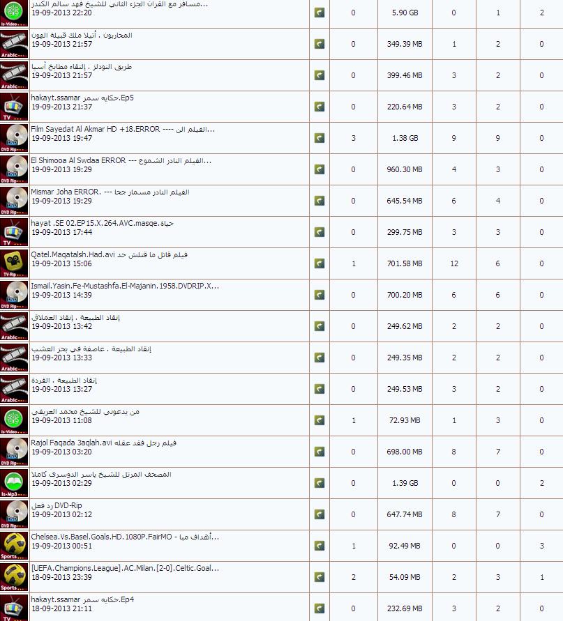 arab torrent